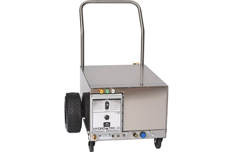 CW Series Cold Water Pressure Washer with Wheel Handle Option - Front Shadow