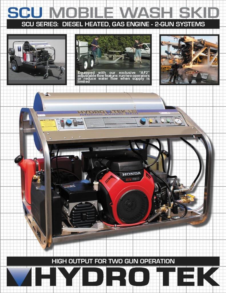 SCU Series Gas Powered, Diesel Heated 2-Gun Systems Brochure Page 1