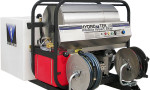 T185TW SS Series Hot Water Pressure Washer with Tank Skid
