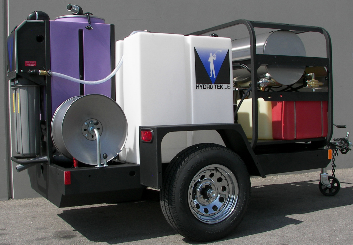 Portable Wash Water Recycle Systems for Truck or Trailer Mount