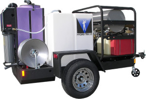 Hydro Tek Water Recycle Trailer