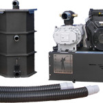 RGV40 Vacuum Water Evacuation System - Gas Powered With Pump Out