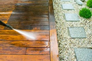 A Simple Guide to Using a Hot Water Pressure Washer to Clean a Deck