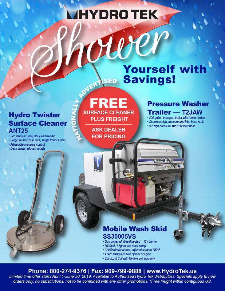 Pressure Washer Specials