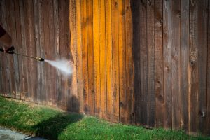 Get Tips for Pressure Washing Different Types of Wooden Fences